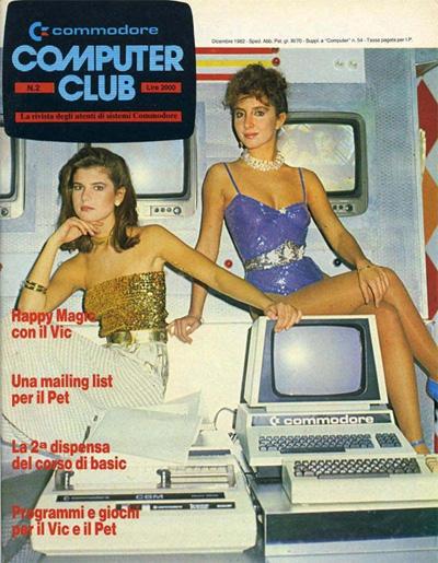 1982 Commodore Computer Club Italian magazine