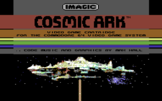Commodore Cosmic Ark C64 Remake - Commodore Computer Club
