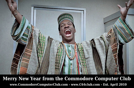 Merry New Year Eddie Murphy - Commodore Computer Club