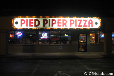 Pied Piper Pizza - Commodore Computer Club