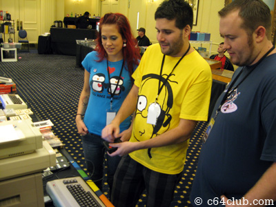 Homer Simpson - PRGE 2010: Commodore Computer Club