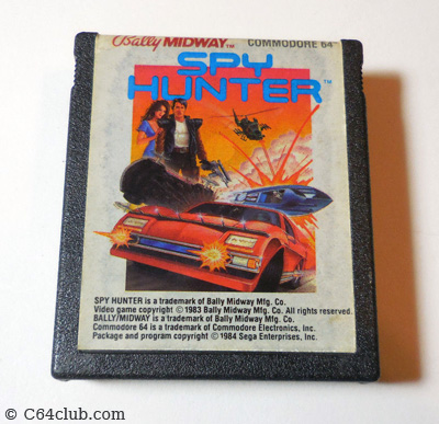 Sega Spy Hunter C64 Game - Commodore Computer Club