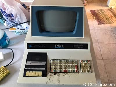 Commodore PET 2001-8 Blue Bezel Computer Rescue - Commodore Computer ...